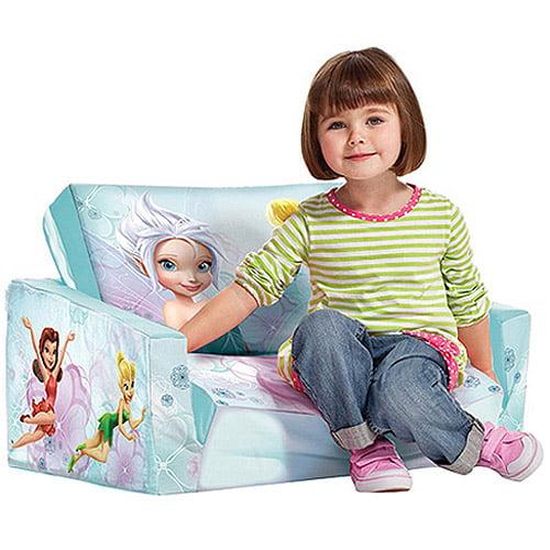 Marshmallow Fun Furniture Flip Open Sofa Disney Fairies Walmartcom