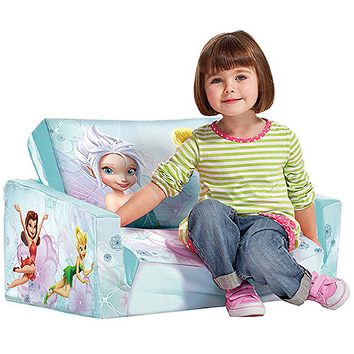 Marshmallow Fun Furniture Flip Open Sofa, Disney Fairies