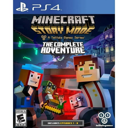 Telltale Games Minecraft: Story Mode- The Complete Adventure - PlayStation