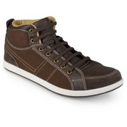 Daxx Mens Classic Casual Lace-up Mid Ris