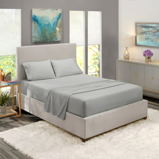 Deep Pocket 4 Piece Bed Sheet Set, Can You Put Full Size Sheets On A Queen Bed