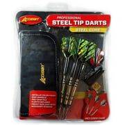Accudart Professional Steel Tip Darts by Escalade Sports