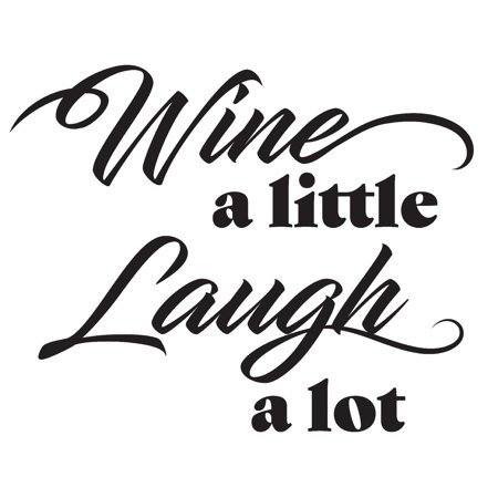 WallPops Wine a Little Laugh a lot Wall Quote](Wine Halloween Quotes)
