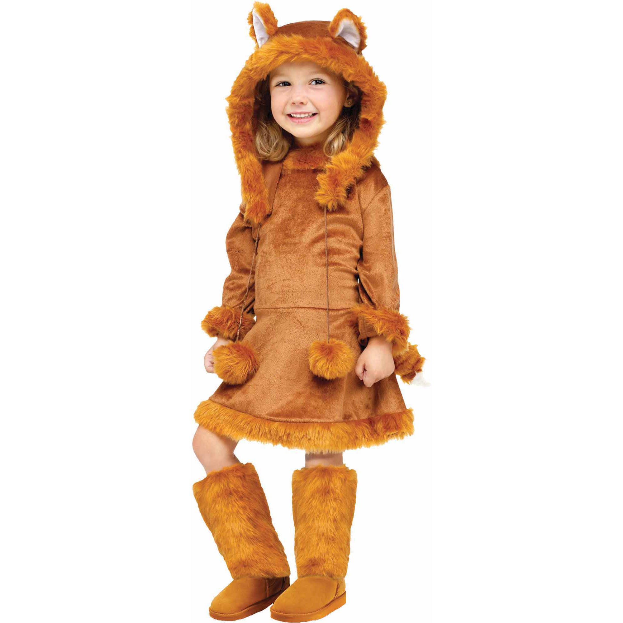 sc 1 st  Walmart & Sweet Fox Child Halloween Costume - Walmart.com