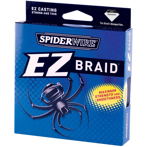 Spiderwire EZ Braid Fishing Line, 300 yd Filler Spool
