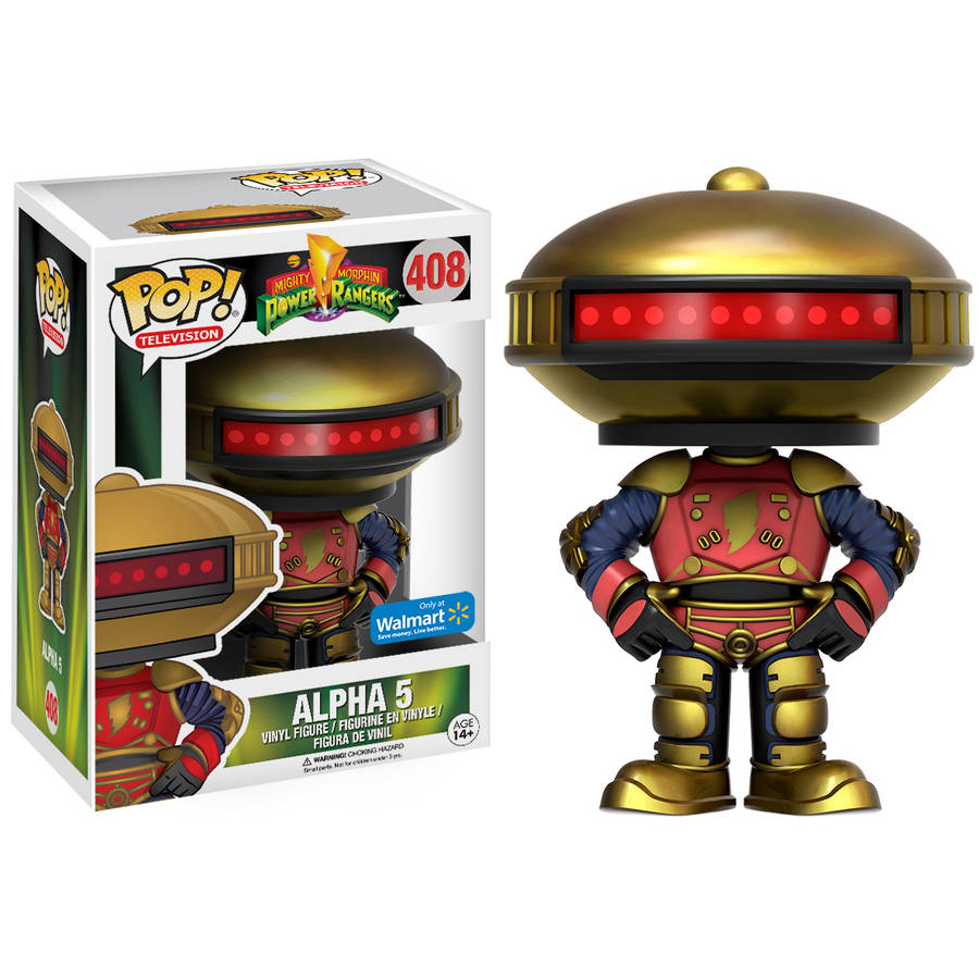 POP! Television: Power Rangers Alpha 5 Figure Walmart Exclusive by Funko