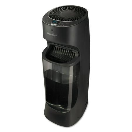 Top Fill Tower Cool Mist Humidifier, 1.7 gal, 9.8w x 8.7d x 24.7h, Black ()
