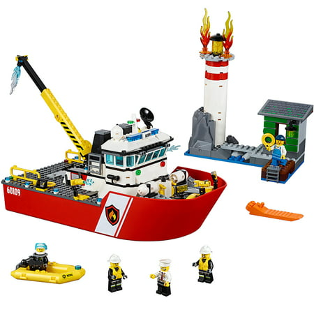 LEGO City Fire Fire Boat 60109