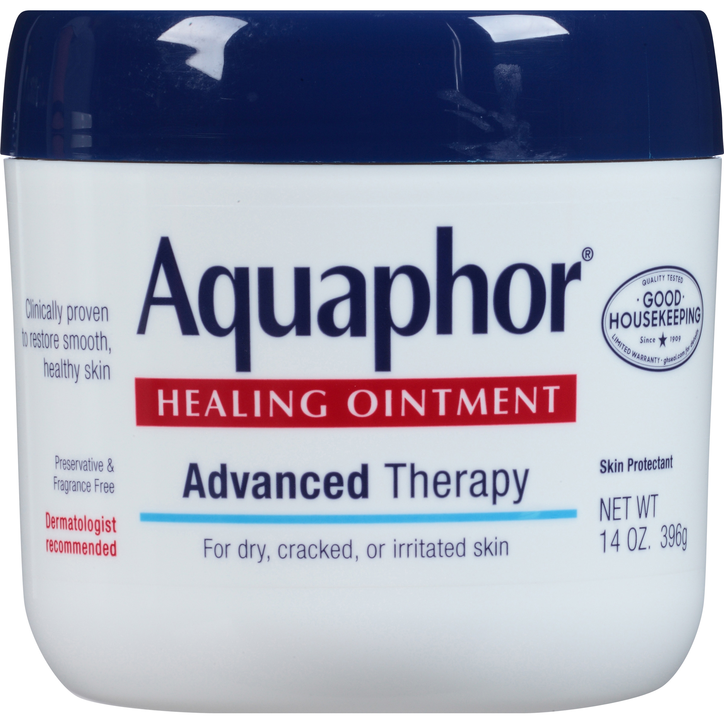 Aquaphor® Advanced Therapy Healing Ointment Skin Protectant 14 oz. Jar