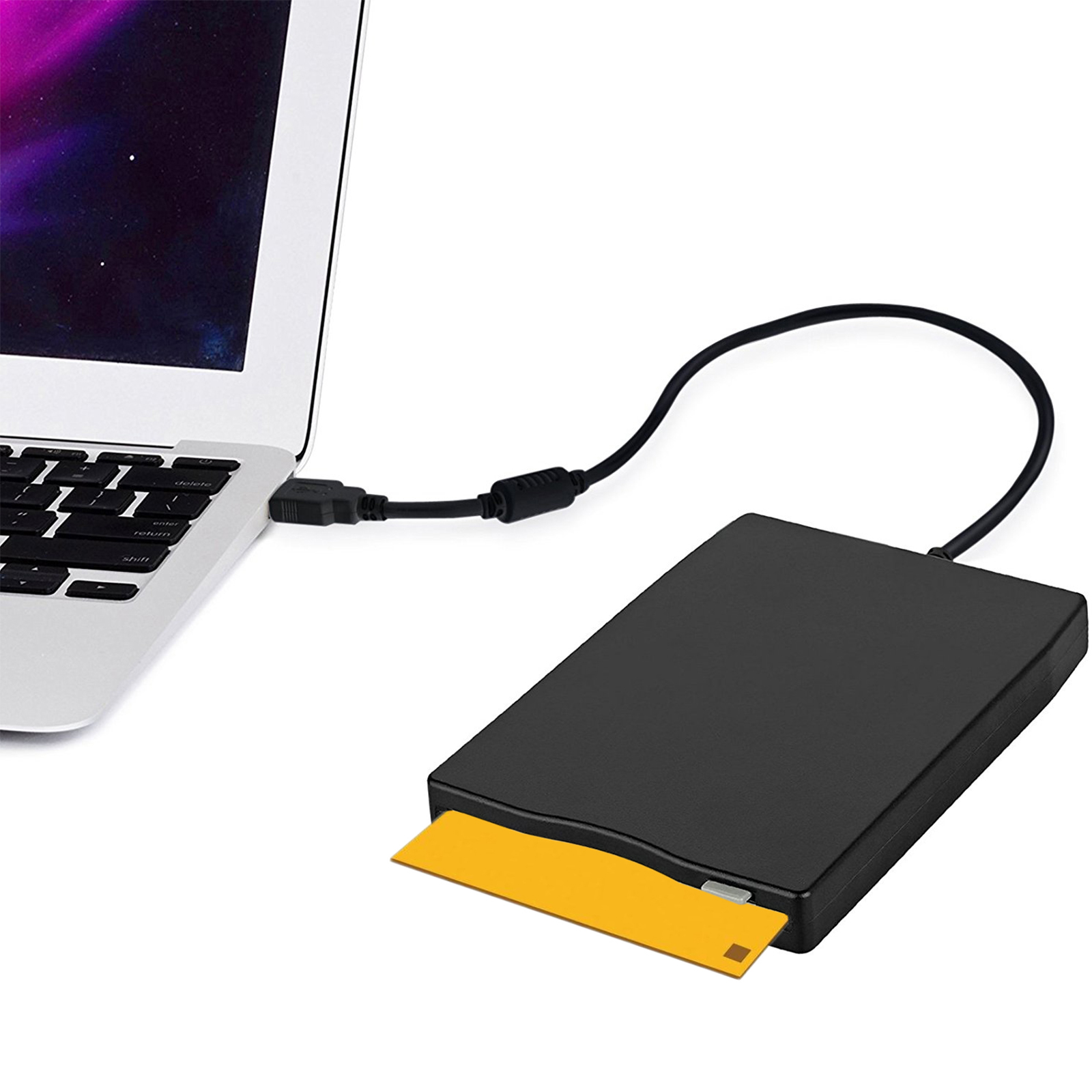 "TSV 3.5"" USB Floppy Disk 1.44 MB FDD Floppy Disk Drive External Portable USB Floppy Disk Reader Plug and Play for Lapt op PC MAC Windows 10 Windows 8 7 VISTA/XP/ME/2000/SE/98"
