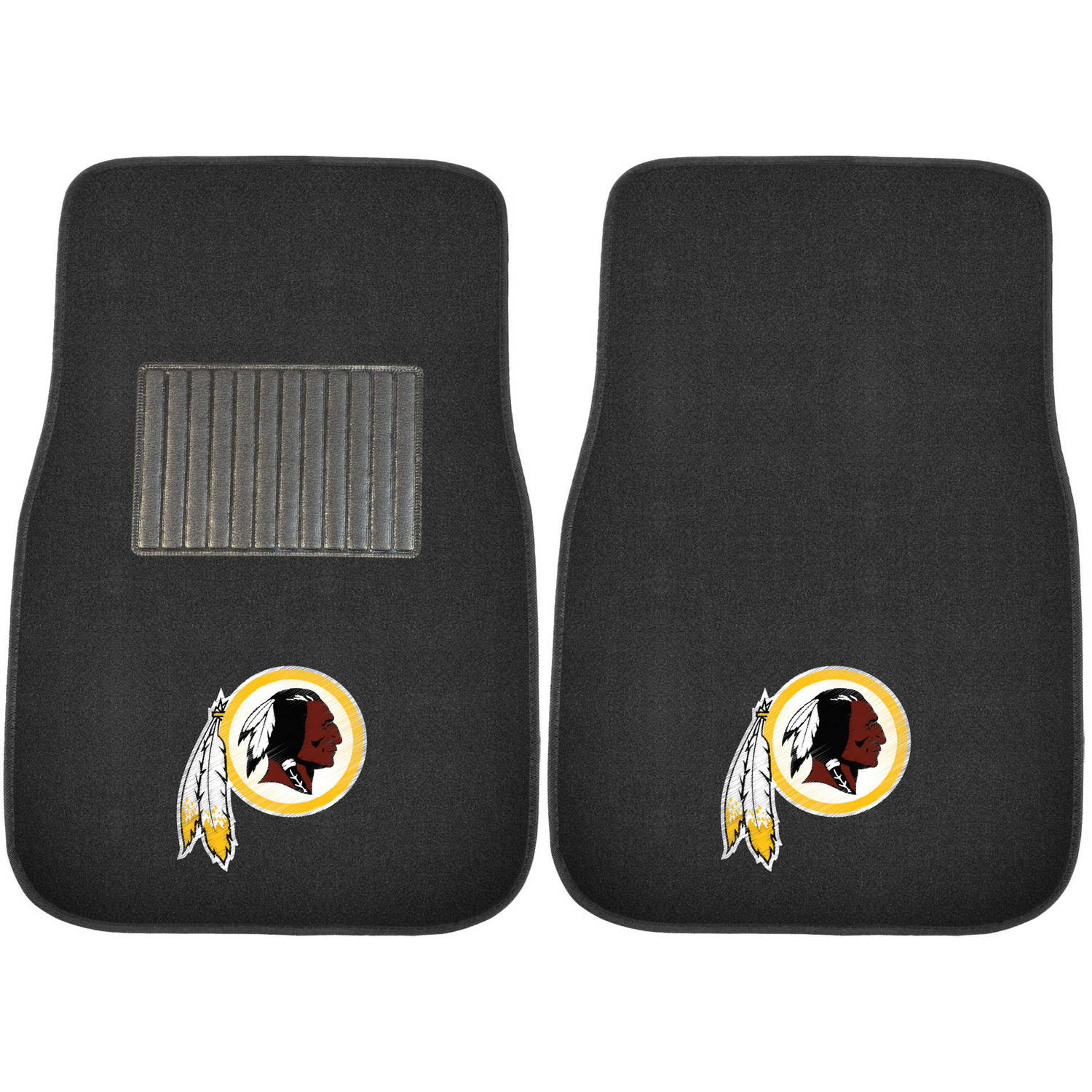 NFL Washington Redskins Embroidered Car Mats
