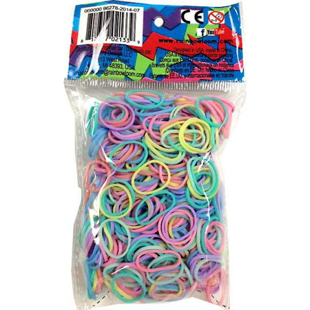 Rainbow Loom Pastel Rubber Bands Refill Pack [600 ct]](Rubber Band Looms)