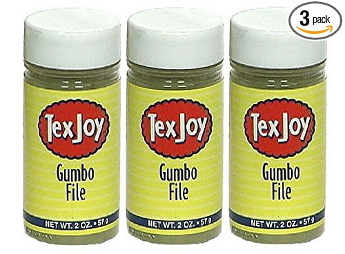 TexJoy Gumbo File 2oz ( Pack 3 ) by