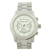 MK8086 Runway Oversized Silver-Tone Watch by Michael Kors for Men - 1 Pc Watch
