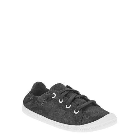 - Women's Scrunch Back Canvas Shoe