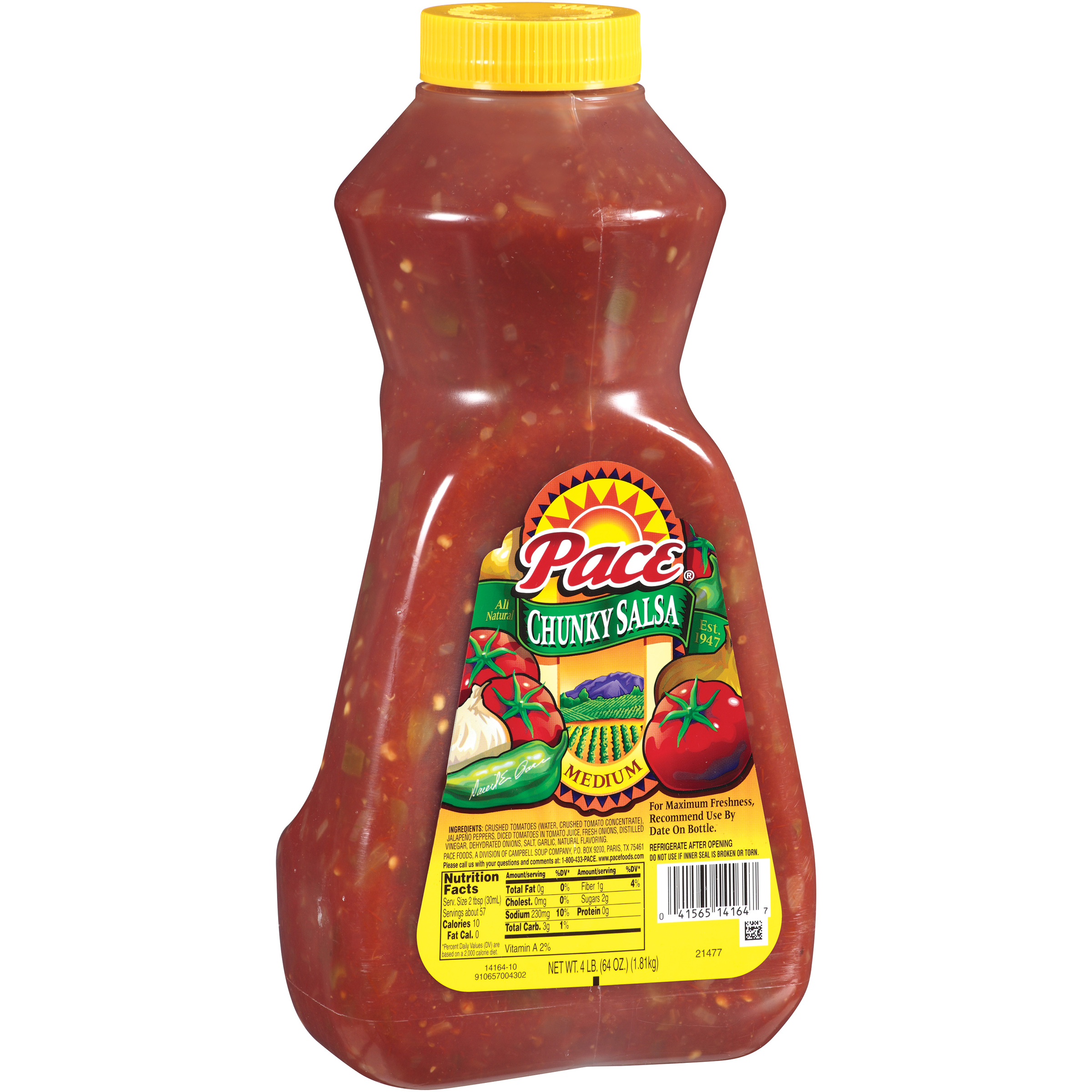 Pace Medium Chunky Salsa 64oz