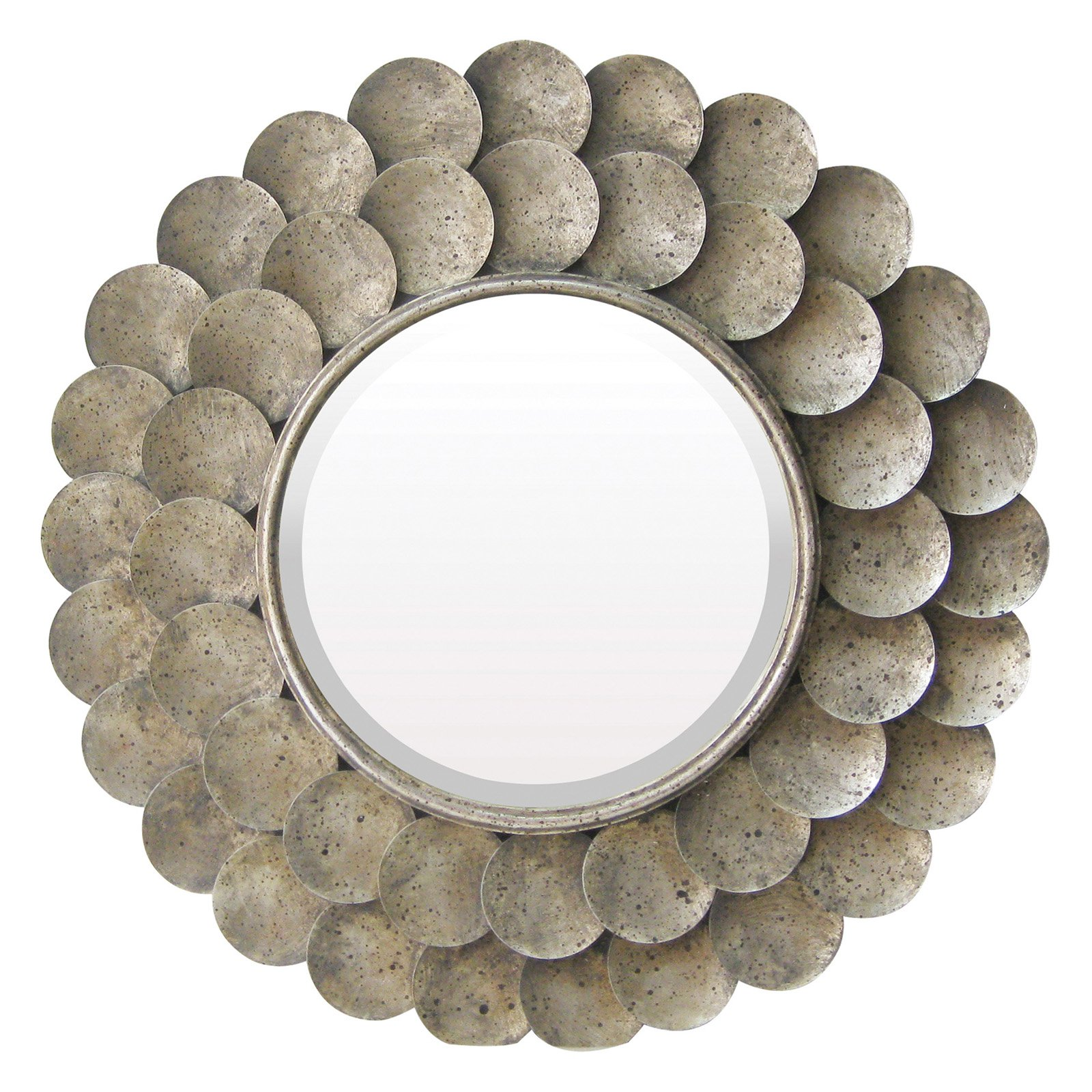 Sterling Harolds Grange Circles Wall Mirror - 36 diam. in.