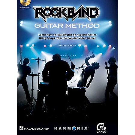 Rock Band Guitar Method : Learn How to Play Electric or Acoustic Guitar Using Songs from the Popular Video Game! (Rock Songs For Dummies)
