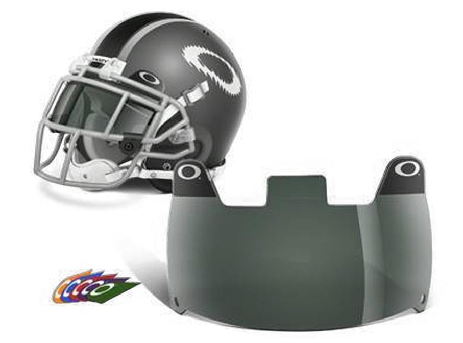 Oakley Football Eyeshield 20 Percent Grey by