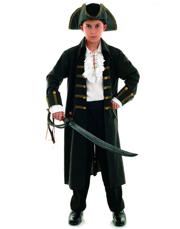 Pirate Captain Black Child Costume by Underwraps