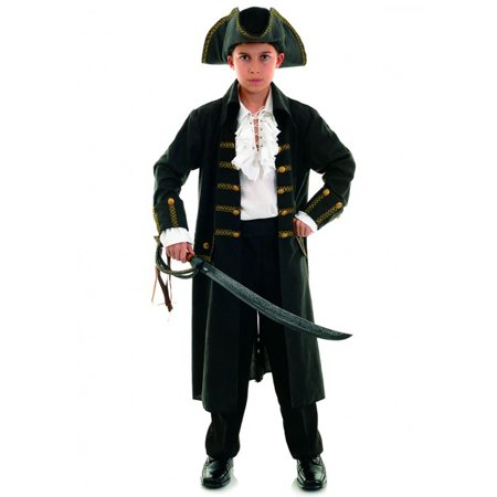 Pirate Captain Black Child Costume