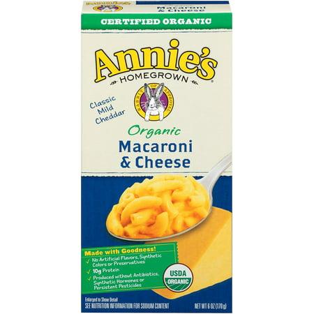 Annie's ® Classic Mac & Cheese Organic 6 oz Box