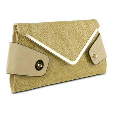 Mad Style 317844 Mad Style Owl Envelope Clutch, Beige - image 1 of 1