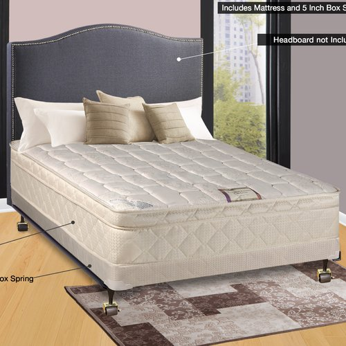 Spinal Solution 14'' Firm Innerspring Mattress
