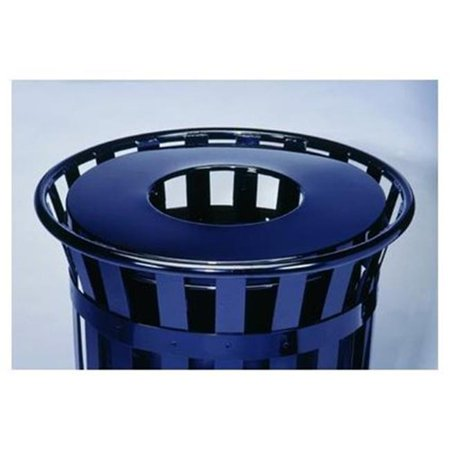 24 Gallon Unit Finish (Witt Industries M2401-FTL-SLV Stadium Series SMB Flat Top Lid for 24 Gallon Unit -)