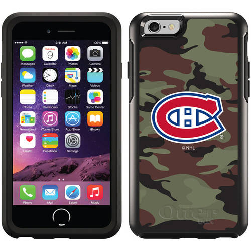 Montreal Canadiens Traditional Camo Design on OtterBox Symmetry Series Case for Apple iPhone 6