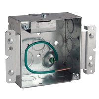 """Raco 232MS 4"""" Wide Square Welded Box"""