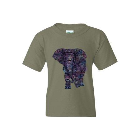 a26e58e48ca80 IWPF - Amazing Elephant Unisex Youth Kids T-Shirt Tee - Walmart.com