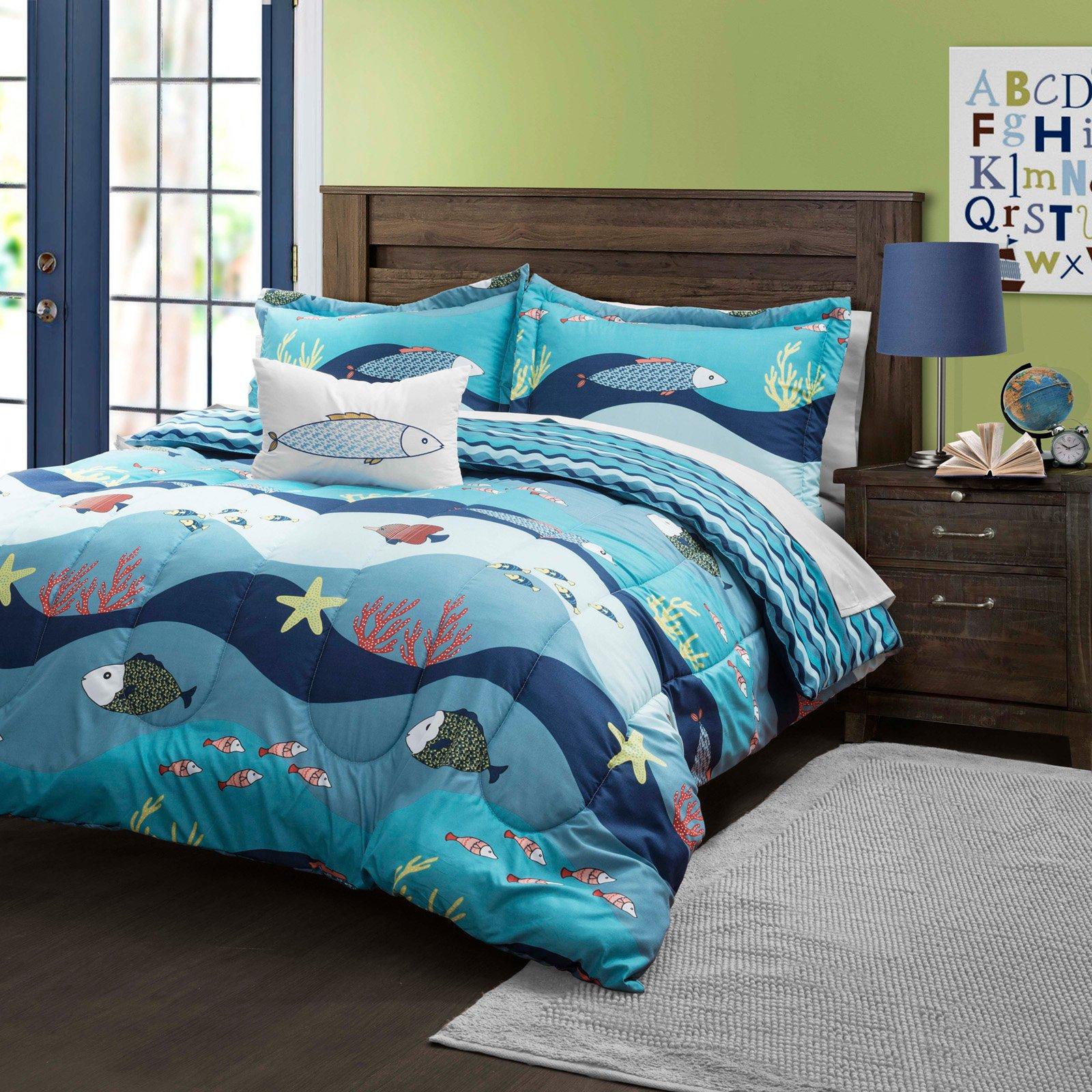Seaworld Comforter Set By Lush Decor Walmart Com