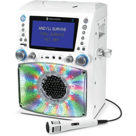 Karaoke Sistema de Karaoke cantando máquina STVG785BTW Bluetooth con 7