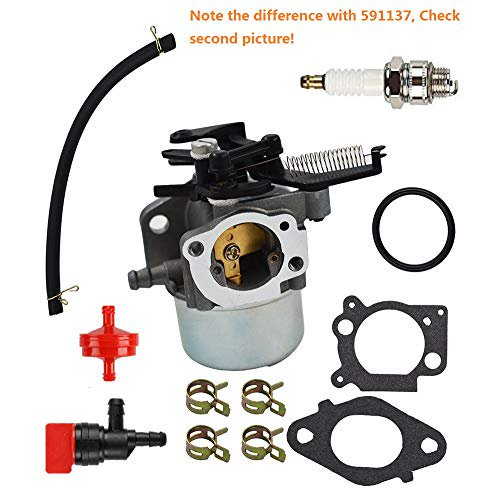 MDAIRC Carburetor Fuel Line Fuel Filter Gasket Kit for Briggs & Stratton  796608 111000 11P000 121000 12Q000 Engines 2700Psi 3000Psi Troy-Bilt  Pressure Washer 7.75Hp 8.75Hp (796608) - Walmart.com - Walmart.comWalmart