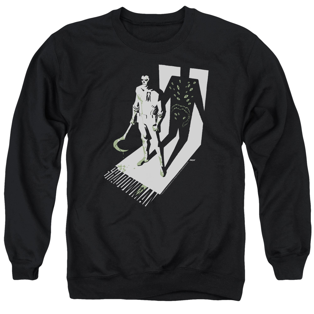 Shadowman Grim Shadow Mens Crew Neck Sweatshirt