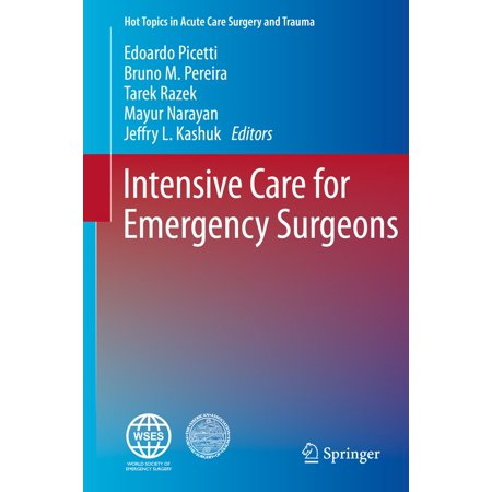Intensive Care for Emergency Surgeons - eBook