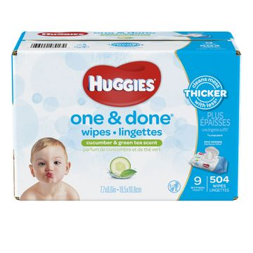 Huggies O&d-refreshing 504ct 9x Rft