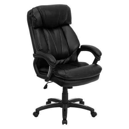 (Flash Furniture Hercules High Back Executive Office Chair, Black)