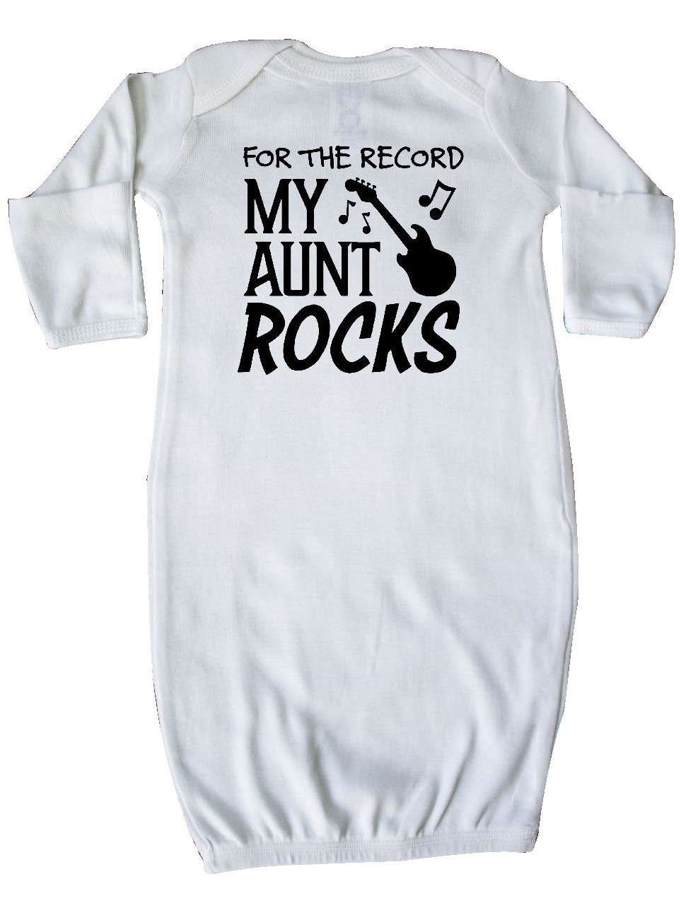For the Record, My Aunt Rocks Newborn Layette