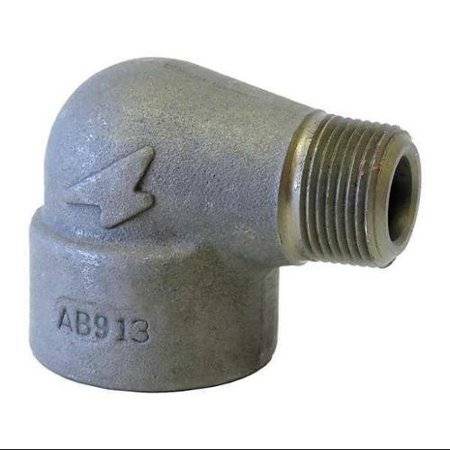 ANVIL Street Elbow,90 Deg,3/4in,Forged Steel (Forged Steel Pipe Fittings)