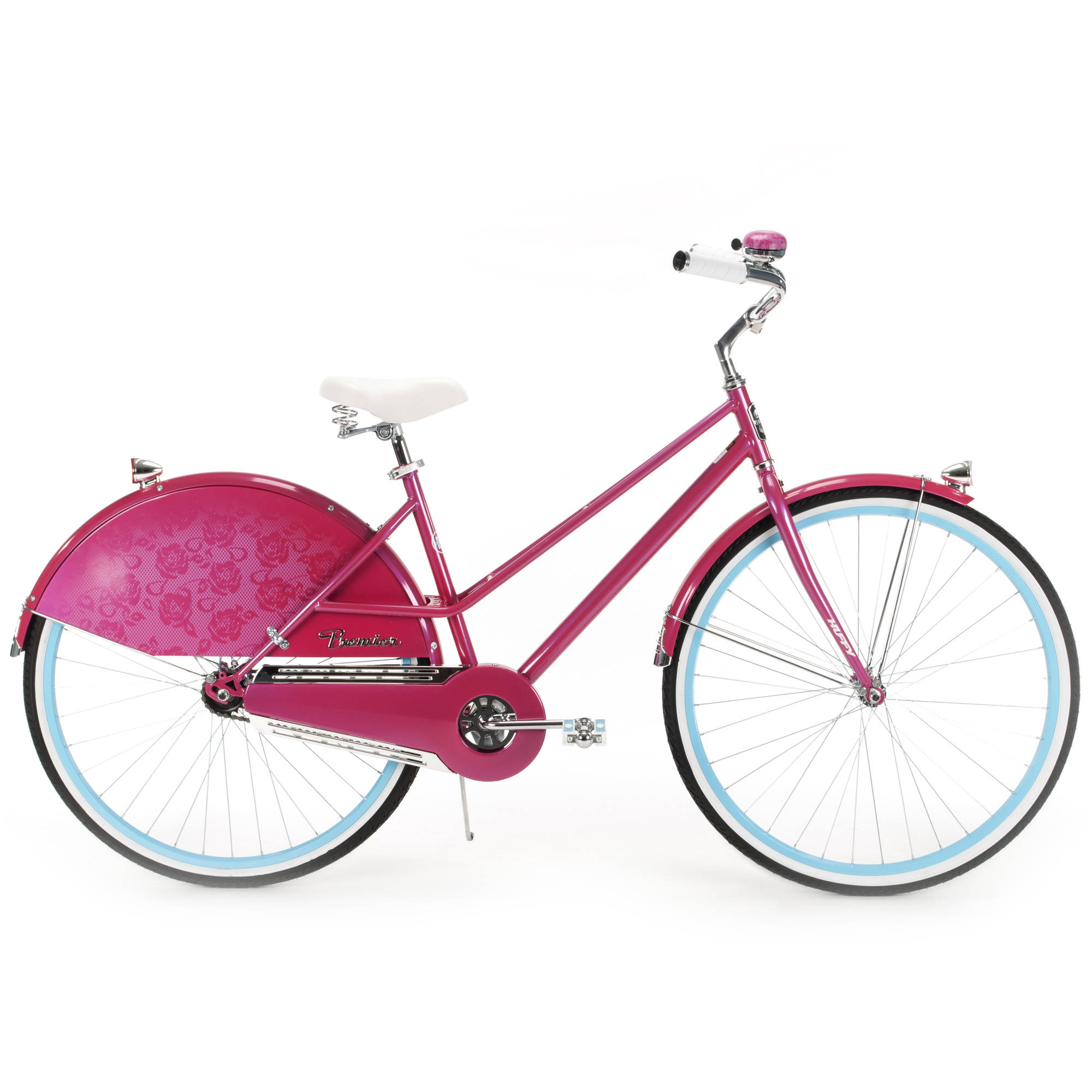 700c Huffy Premier Women S Cruiser Bike Pink Walmart Com Walmart Com