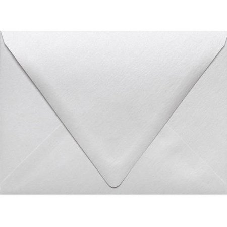 A7 Contour Flap Envelopes (5 1/4 x 7 1/4) - Crystal Metallic (250 (A7 Pointed Flap Envelope)