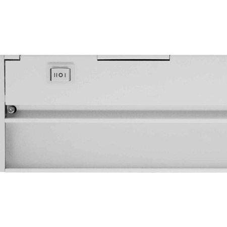 nicor slim 40 dimmable led under cabinet lighting fixture. Black Bedroom Furniture Sets. Home Design Ideas