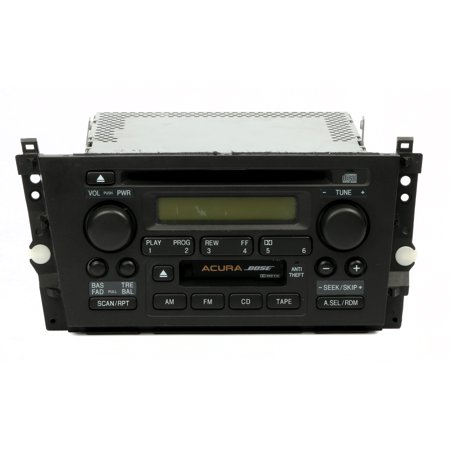2000-2001 Acura TL AM FM CD Cassette Player Factory OEM Radio 39101-S0K-A110-M1 - Refurbished