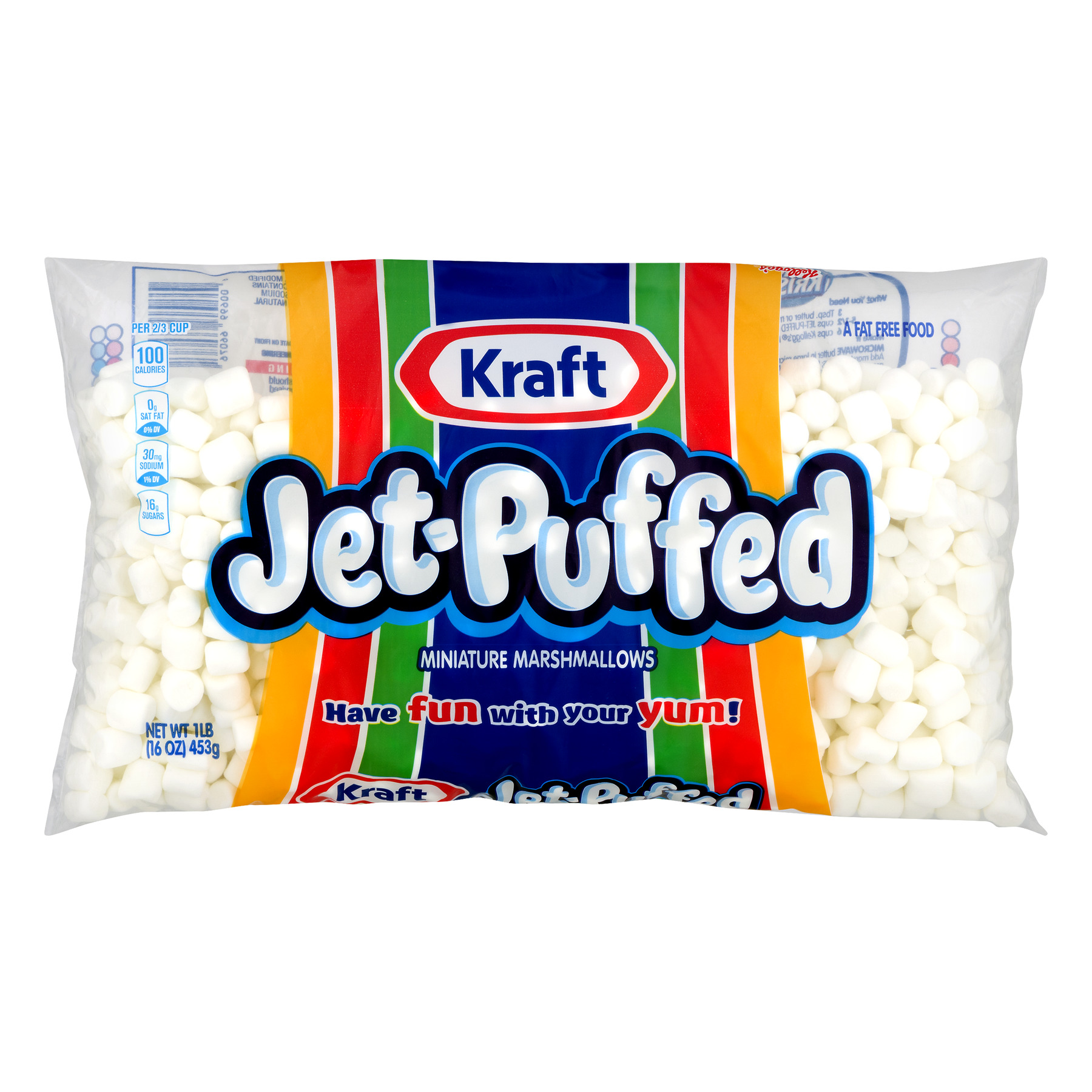 Kraft Jet-Puffed Marshmallows Miniature, 16 Oz