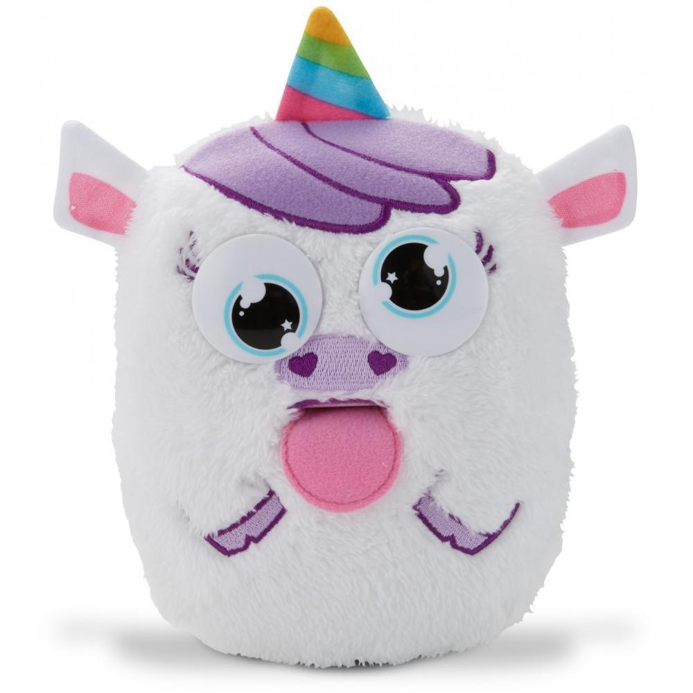 Tizzy Tongues by Mattel: Unicorn Interactive Plush Toy by Mattel