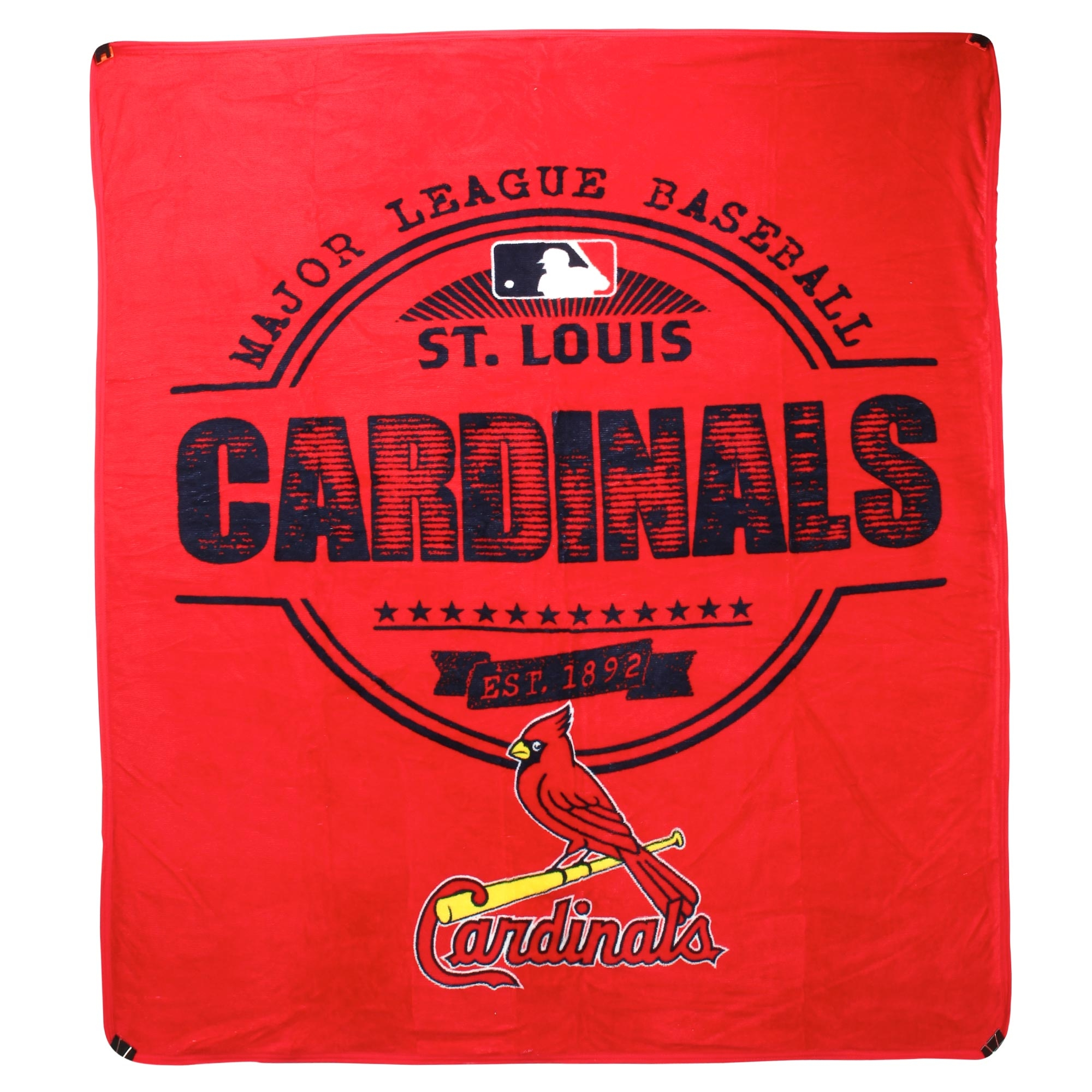 "St. Louis Cardinals The Northwest Company 46"" x 60"" Structure Micro Raschel Plush Blanket - No Size"