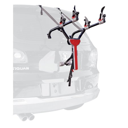 Allen Sports Ultra Compact 2-Bicycle Trunk Mounted Bike Rack Carrier, MT2 Bike Trunk Mounted Rack