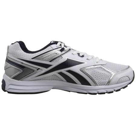 a1031884b Reebok - Reebok Men s QuickChase XW Running Shoes White Silver Black Size  14.0M - Walmart.com